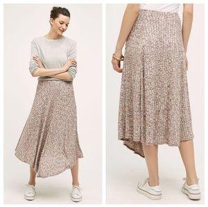 NWT Anthropologie Parque Stretch Maxi Skirt